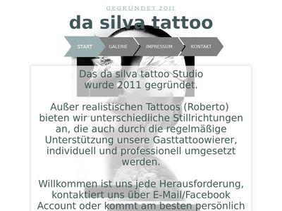 Da Silva tattoo
