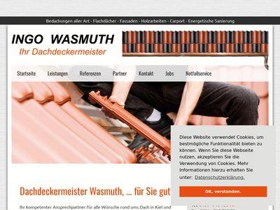Dachdeckerei Wasmuth - Ihr Dachdeckermeister
