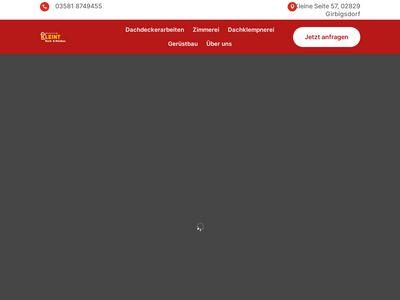 Dach- & Holzbau Kleint GmbH