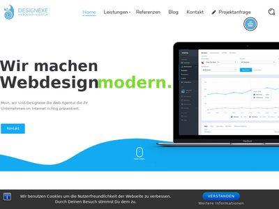 Designexe.de Webdesign Agentur