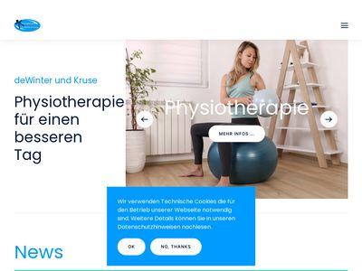 Praxis für Physiotherapie de Winter