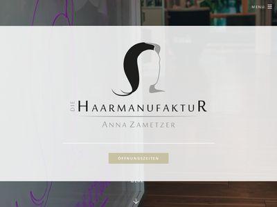 Die Haarmanufaktur - Anna Zametzer