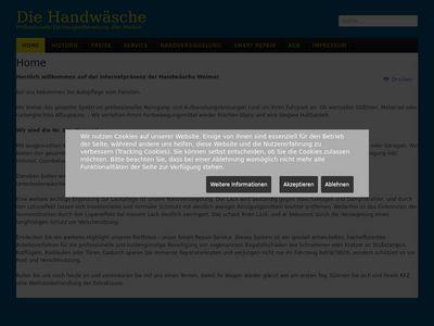 Volker Sander Autopflege Die Hand-Wäsche