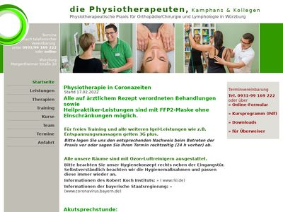 Die Physiotherapeuten Kamphans & Kollegen