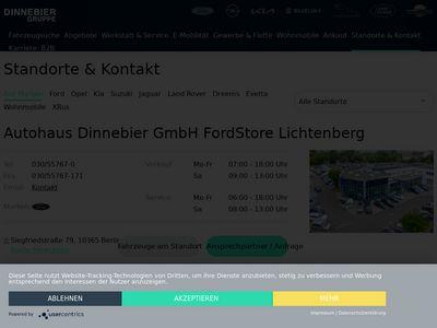 Autohaus Dinnebier Lichtenberg - Ford-Store