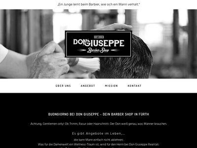 Der Barber Shop - Don Giuseppe
