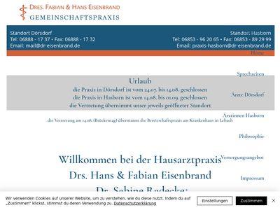 Dr. med. G. Sandhöfer Allgemeinarzt