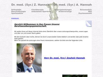 Hannah Aida Syr. Dr.med.