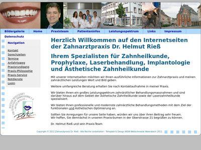 Riess Helmut Dr. med. dent. Zahnarzt