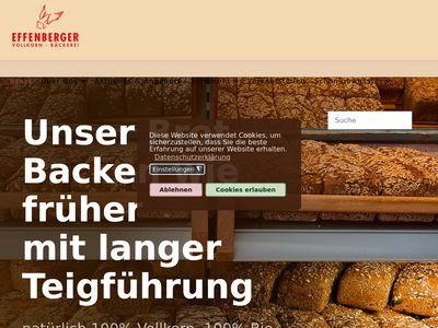 Effenberger Vollkornbäckerei
