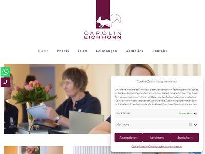 Carolin Eichhorn Physiotherapie Praxis