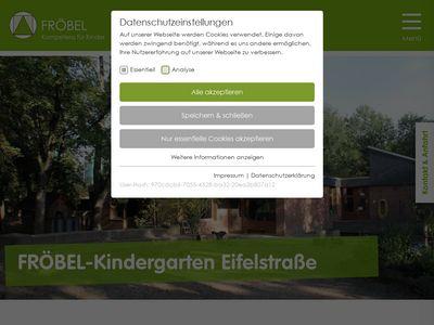 FRÖBEL-Kindergarten Eifelstrasse