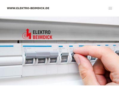 Elektro Beimdick GmbH