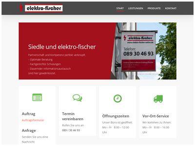 Elektro Fischer - Ihr Elektriker in München