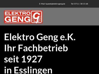 Elektro Geng e.K.