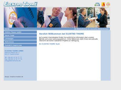 Elektroanlagen Thome GmbH