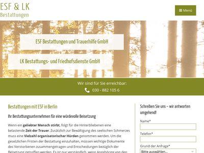 ESF Bestattungen und Trauerhilfe GmbH