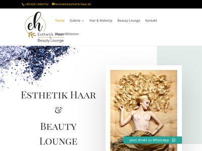 Esthetik Haar + Beauty Selver Satilmis