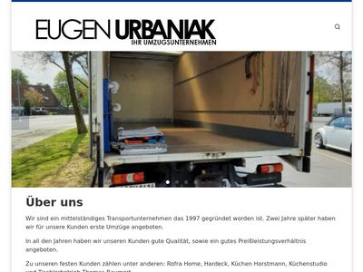 Umzugsunternehmen Eugen Urbaniak