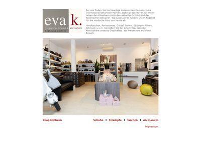 Eva k. shoes