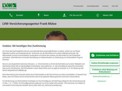 LVM-Versicherung Frank Mütze