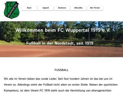 FC Wuppertal 1919 e.V. - Sportverein