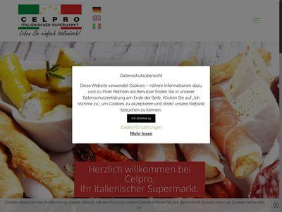 Celpro Italienischer Supermarkt
