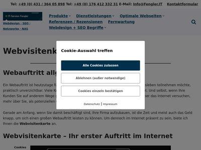 Webdesign & SEO Kiel - IT-Services Fengler