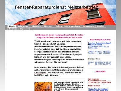 Fenster-Reparaturdienst Meisterbetrieb