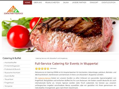 Partyservice Zorin Catering Wuppertal