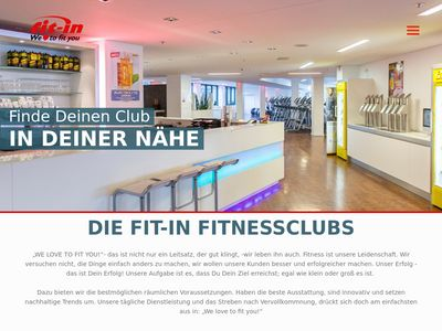 Fit-in Fitness Club