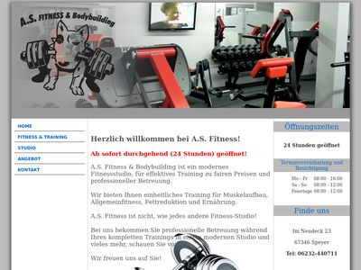 A.S. Fitness & Bodybuilding