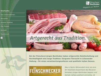 Fleischerei Jürgen Bachhuber GmbH