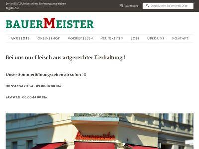 Fleischerei Bauermeister