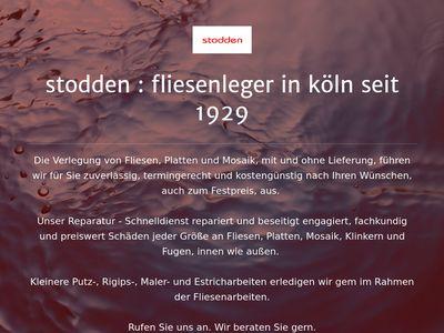 Fliesen Stodden GmbH & Co. KG