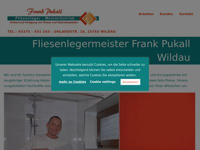 Frank Pukall Fliesen- Platten- und Mosaikleger