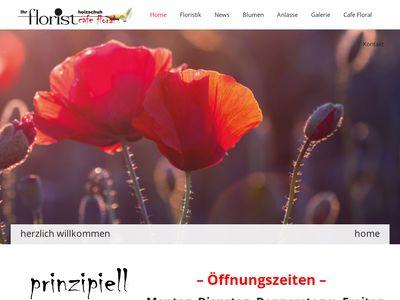 Florist Holzschuh Café floral seit 1876