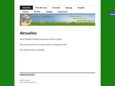 Förderkreis BIOTEC e.V. - Freital