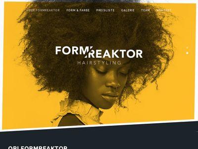 Ori Hairstylist Form Reaktor