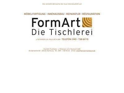 FormArt Tischlerei J. Putensen & N. Paulusch