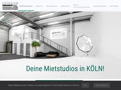 FOTODOM Studios - Mietstudios in Köln