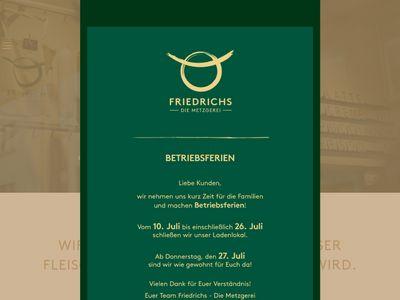 Friedrichs - Die Metzgerei GmbH
