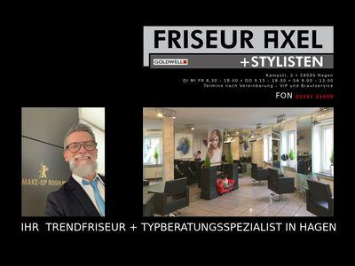 Friseur Axel und Stylisten