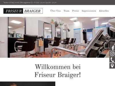Friseur Braiger