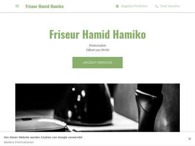 Friseur Hamid Hamiko