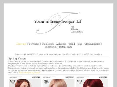 Friseur im Braunschweiger Hof