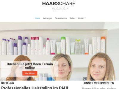Friseursalon Haarscharf