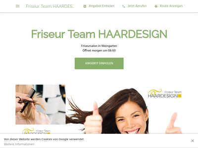 Friseur Team Haardesign