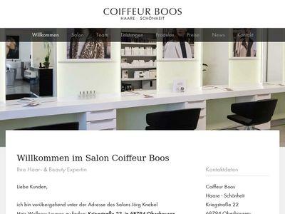 Boos La Coiffeur