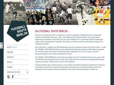 Fussball Route Berlin
